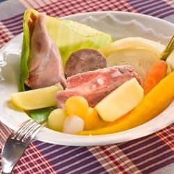 Potée Auvergnate aux Légumes d'hiver