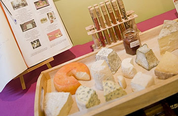 Plateau de fromage Olivier Mazuelle | Le 9/7 | Les Toques d'Auvergne