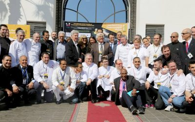Les Toques d'Auvergne aux Rencontres Gastronomiques d'Agadir 2018
