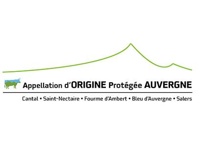 Logo AOP Fromage d'Auvergne