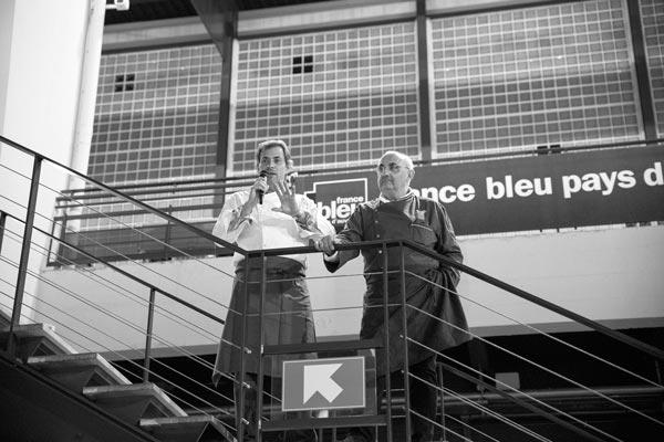 L'Association des Toques d'Auvergne Jean-Francois Fafournoux et Louis-Bernard Puech