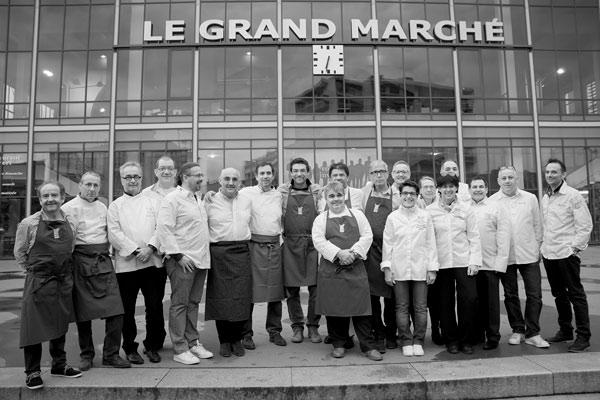 L'Association des Toques d'Auvergne | Marché de Vichy | 2016