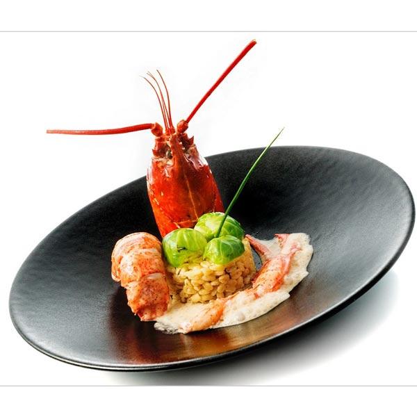 Blésotto de homard bleu tout déshabillé | OIivier Dulac | Toques d'Auvergne