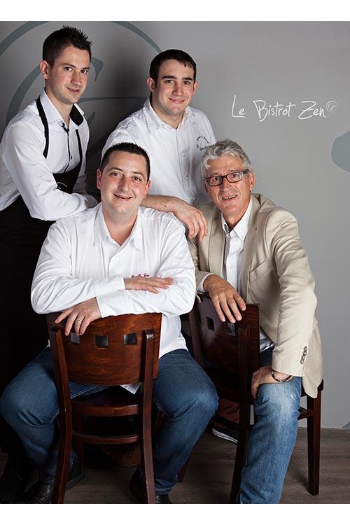 Equipe Bistrot Zen   Cyrille Zen   Toques d'Auvergne