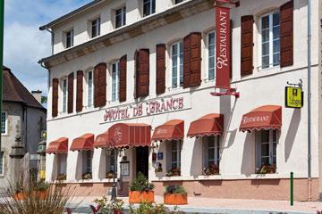 Façade Matthieu Omont | Hôtel de France | Les Toques d'Auvergne