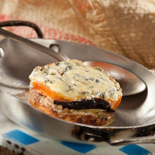 Millefeuille de légumes à la fourme d'Ambert | Thierry Chelle | Toque d'Auvergne