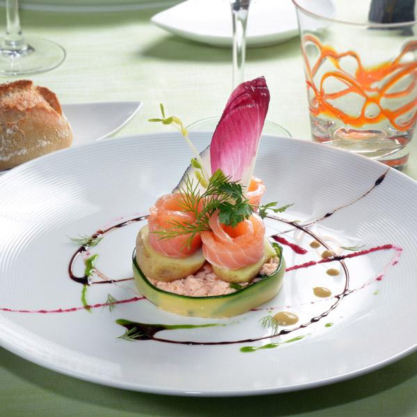 Tournedos de saumon en deux façons | Stéphane Ranieri | Les Toques d'Auvergne