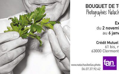 Exposition Bouquet de Toques au Crédit Mutuel de Jaude