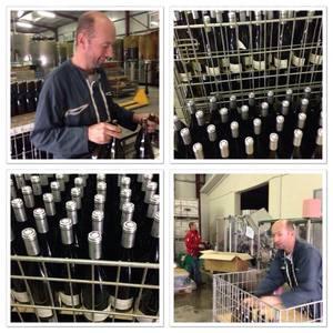 Mise en bouteille caves Laurent